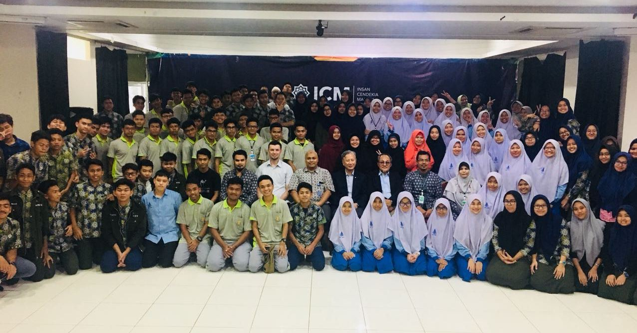 Immersion Program February 2018 at Sekolah Insan Cendekia Madani