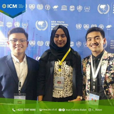 ICM High School participate in Asia Youth International Model United Nations (AYIMUN) 2018