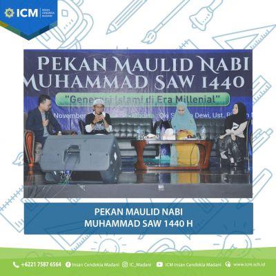 Sekolah Insan Cendekia Madani Mengadakan Pekan Maulid Nabi Muhammad SAW 1440 H