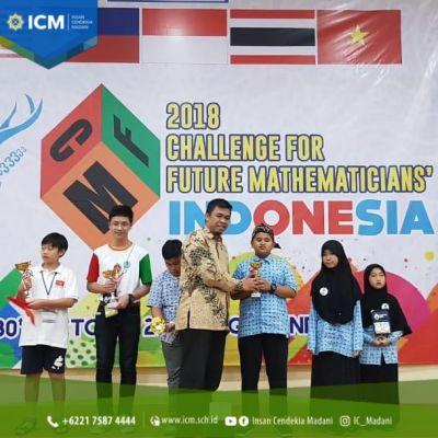 Siswa SMP ICM juara Kompetisi Matematika Internasional Challenge For Future Mathematicians (CFM) 2018